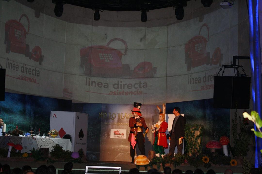 Los personajes son parte del evento y de la historia