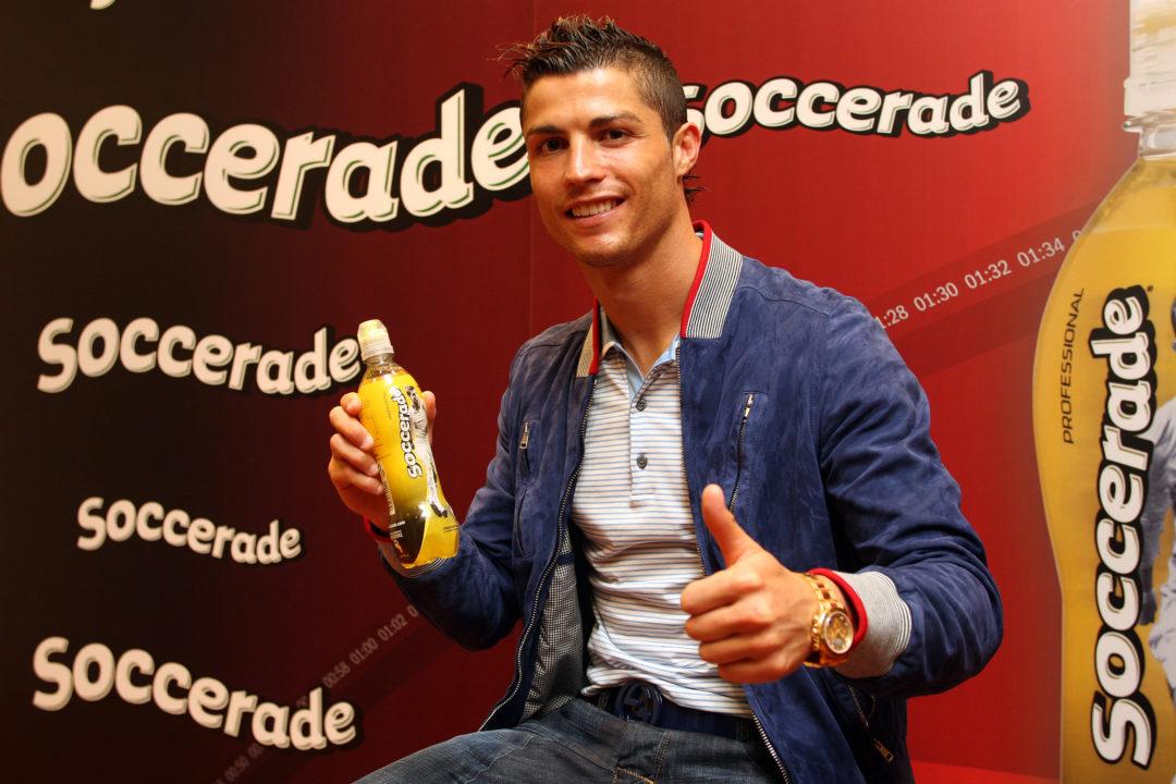 Sesión de fotos con Cristiano Ronaldo