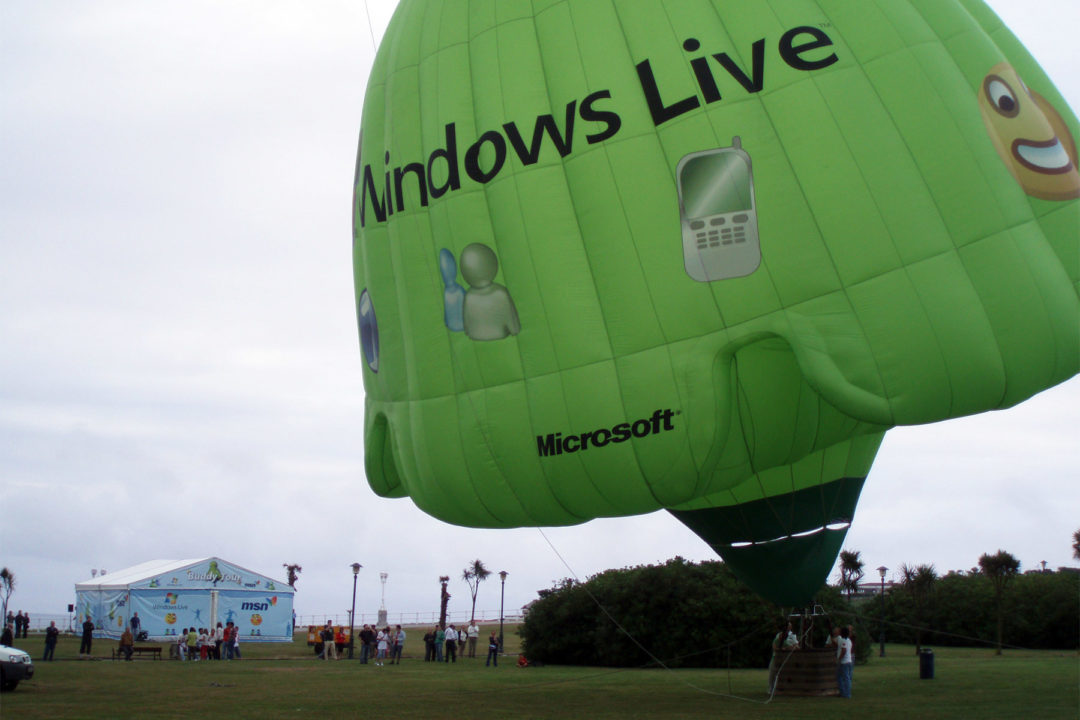 Roadshow promocional Windows Live