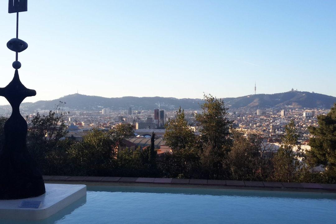 Vistas de Barcelona desde la zona del cóctel
