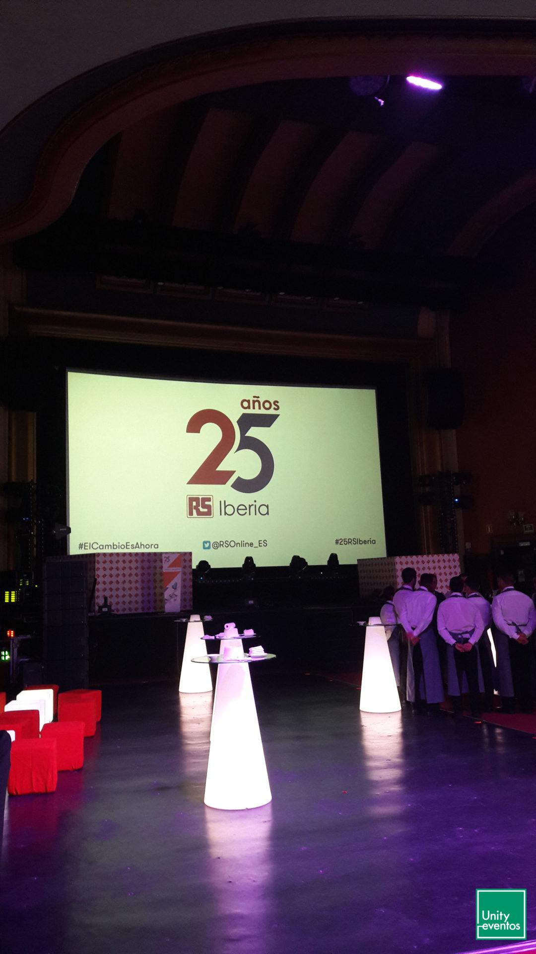 aniversario RS Components Iberia
